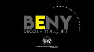 Création du logo, de la charte, des outils de comm' BENYDECO.