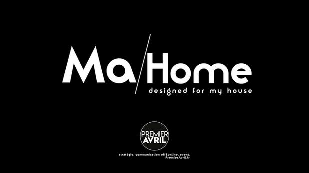 Création de la marque, du logo et de la charte graphique MA/HOME.