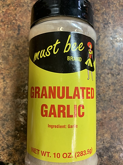 Granulated garlic 10oz