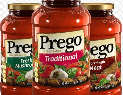 Assortedspaghetti sauce each