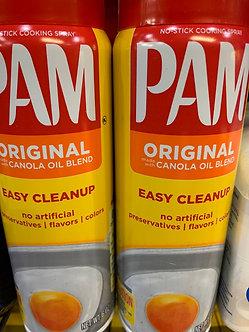 Pam nonstick spray