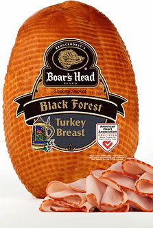 Hickory smoked turkey breast per lb