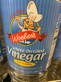 Woebers  white vinegar