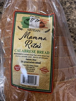Calabrese bread 16 ounce loaf