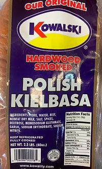 Kowalski polish kielbasa 2 1/2 lb bag