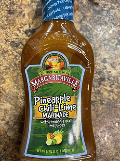 Margaritaville pineapple Chili lime barbecue sauce
