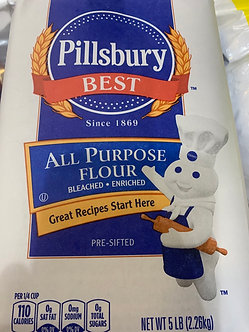 5 pound Pillsberry flour