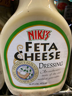 Feta cheese dressing