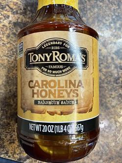 Carolina honeys barbecue sauce