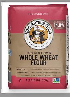 King Arthur wheat flour 5lb