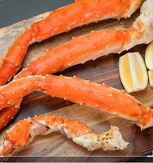 King crab legs (per lb)