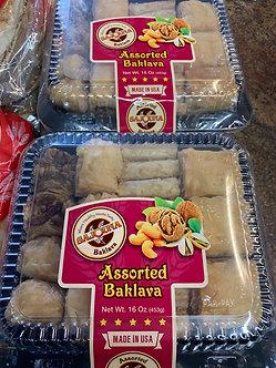 Assorted baklava