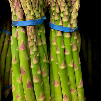 Fresh asparagus per lb