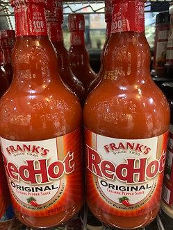 Red hot 16oz each