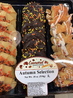 Italian fall cookie tray 18oz