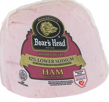 Low-sodium ham