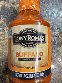 """Tony Roma""""s Buffalo wing sauce"""