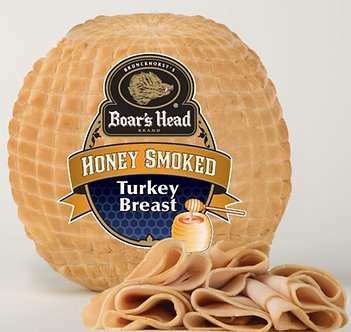 Honey smoked turkey breast per lb