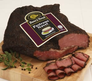 Navel pastrami (the best pastrami) per lb