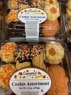 Assorted Italian fall cookies 16oz
