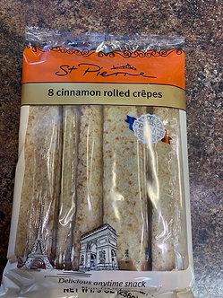 Cinnamon rolls crepe