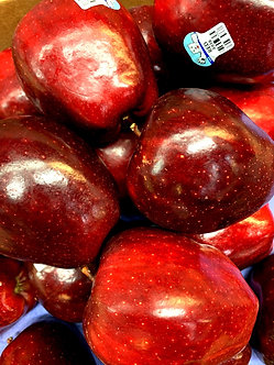 Red Delicious apples each