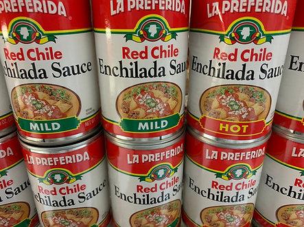 Hot or mild enchilada sauce