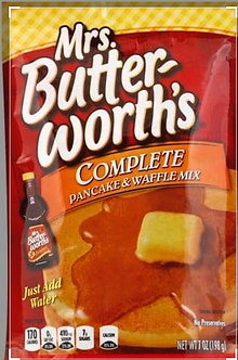 Mrs. Butterworth pancake & waffle mix