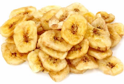Dried bananas chips