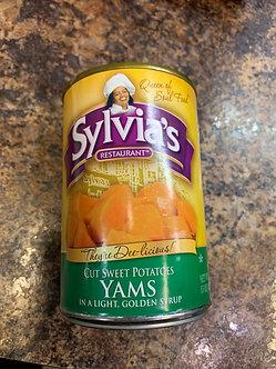 Sylvias  Sweet potatoes 15 oz