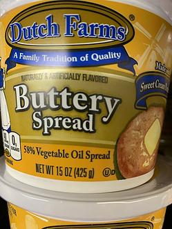 Dutch Farms buttery spread 15 ounce