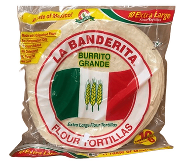 Flour tortillas each