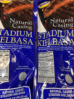Natural casing stadium Keilbasa 32 ounce package