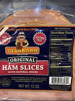 Deerborn spiral ham each