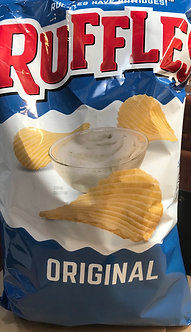 Ruffles chips each