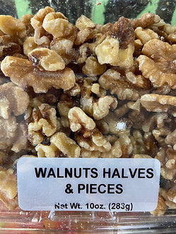 Walnut halves and pieces