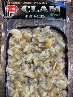 Clam meat