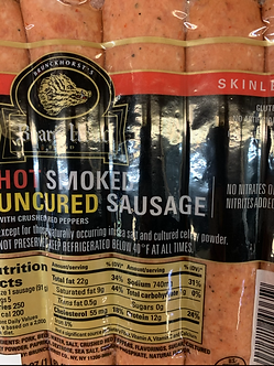Hot sausages