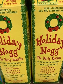 Holiday eggnog32 oz