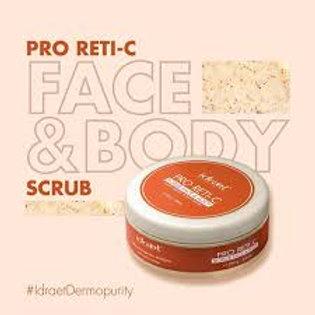 IDRAET PRO RETI-C SCRUB - Exfoliante Facial & Corporal Anti-Edad