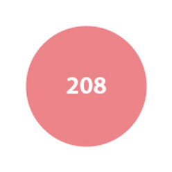 MILA Rubor Compacto Rosa Intenso Satinado 208