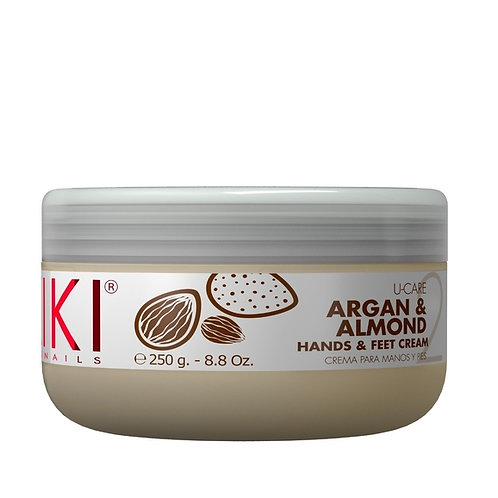 KIKI ARGAN & ALMOND HANDS & FEET CREAM - Crema de Manos & Pies