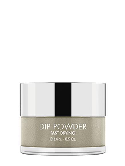 KIKI DIP POWDER SYSTEM - FAST DRYING GLITTER - Tono DP 91 - Silver