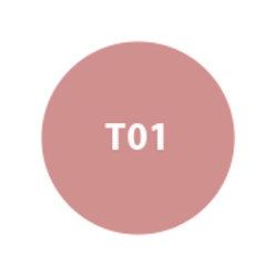 MILA Sombra Compacta Pro Tratante (Repuesto) Beige Rosado Tornasol Nacarado T01