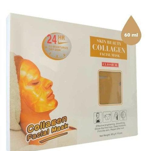 SIMPLE & BEAUTY Máscara facial de hidrogel con colágeno unidosis