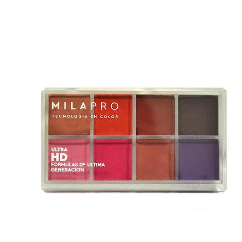 MILA Set para Labios ULTRA HD- Labial Mate-