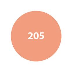 MILA Rubor Compacto Salmón tornasolado 205