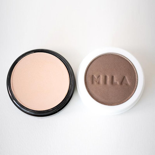 MILA Set Contouring Powdered- Duo Contorno en Polvo