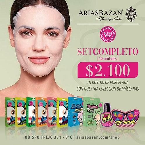 BLING POP Colección de máscaras