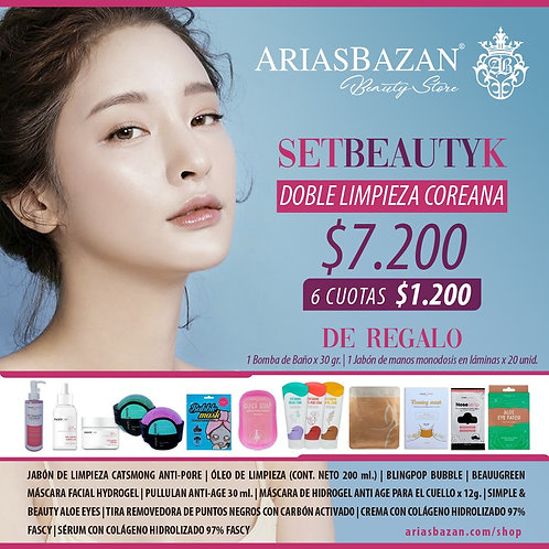BEAUTY K DOBLE LIMPIEZA COREANA